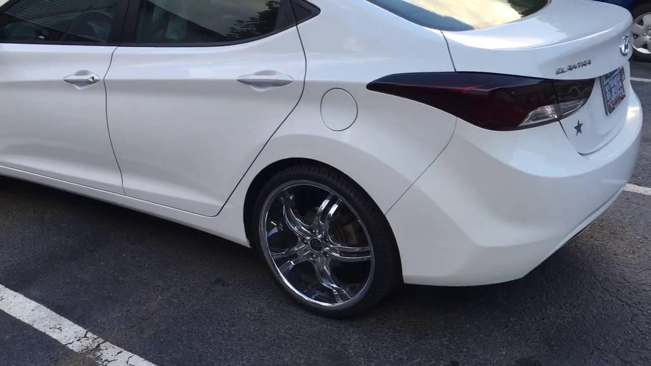 Hyundai Elantra 2013 Review Tint And Rims Youtube
