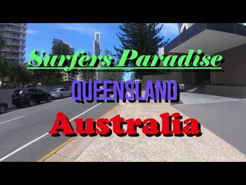 (Part 2)Walk Around Surfers Paradise-People Watching On The Beach-Gold Coast-Qld-Australia