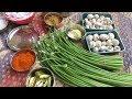 Village food Recipe /ONION FLOWER Recipe + Mushroom /Village Style / Cooking By Village food Recipes