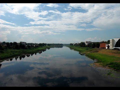 Вид на Западную Двину в Полоцке (View of the Western Dvina in Polotsk)