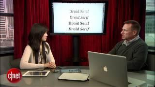 Talking fonts with typeface designer, Steve Matteson