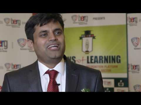 Ashutosh Tripathi, Exec Director, Krishna Public School, Raipur, India
