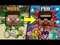 NEW Extreme&Simple Ways to Transform from NOOB to PRO in Minecraft (Aquatic Update included)