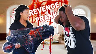 BEST SCARE PRANK EVER ON HUSBAND!!! (REVENGE)
