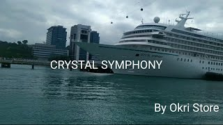 Kapal Pesiar Crystal Symphony di HarbourFront Singapore Perjalanan Batam Singapore