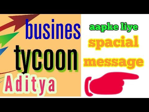 Spacial message for stock market investor. By business tycoon aditya