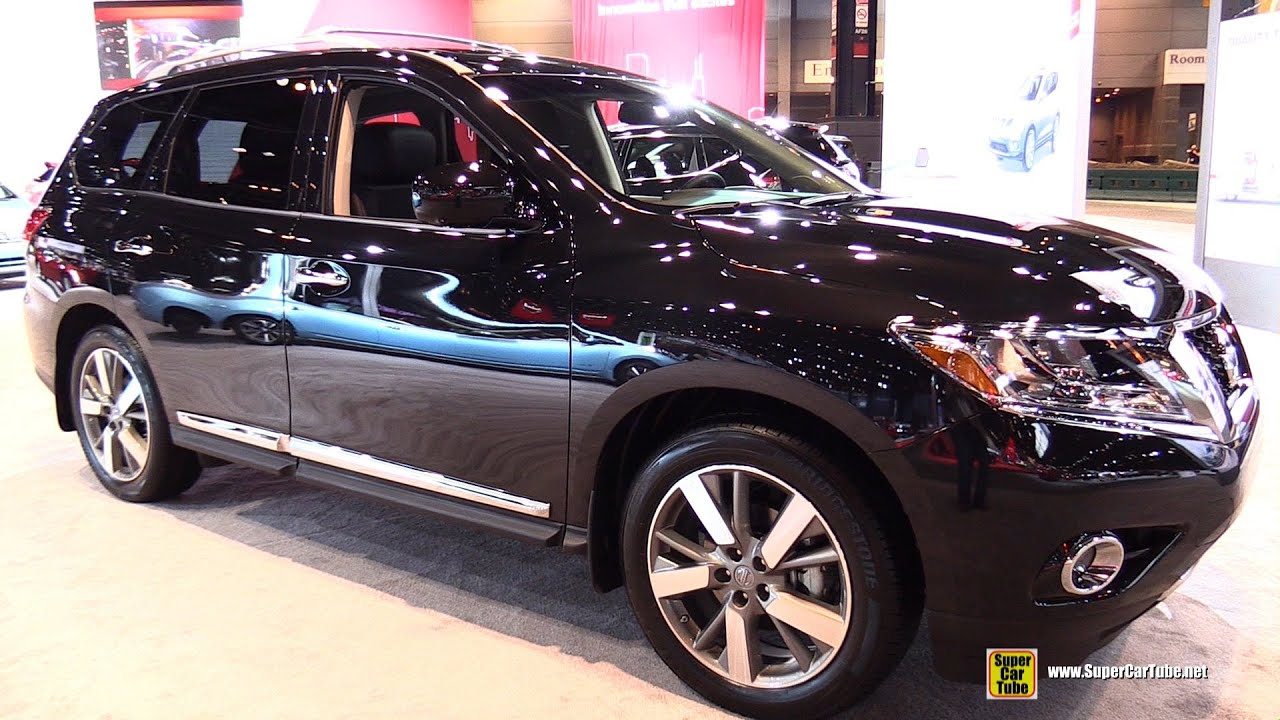 2015 Nissan Pathfinder Platinum 4wd Exterior And