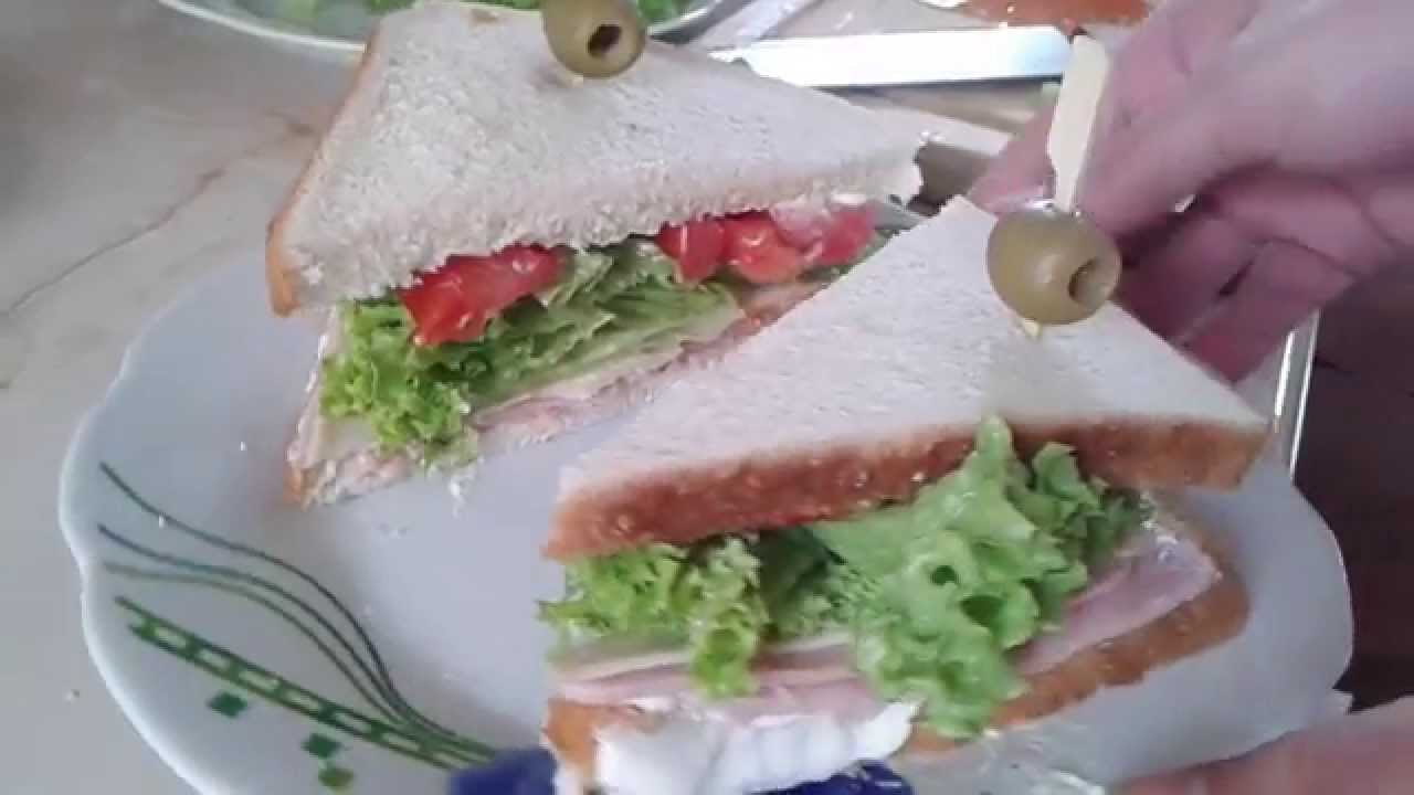 How To Make A Sandvich Youtube