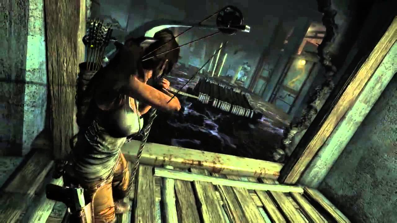 Tomb Raider Definitive Edition Gameplay Ps4 The Flooded Vault Spanish Youtube