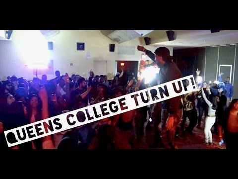 Hosting Soca Night at Queens College!  ( Vlog #11 )