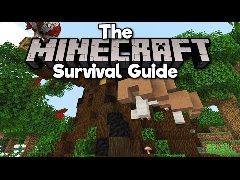 building-a-giant-tree-base!-▫-the-minecraft-survival-guide-(tutorial-lets-play)-[part-182]