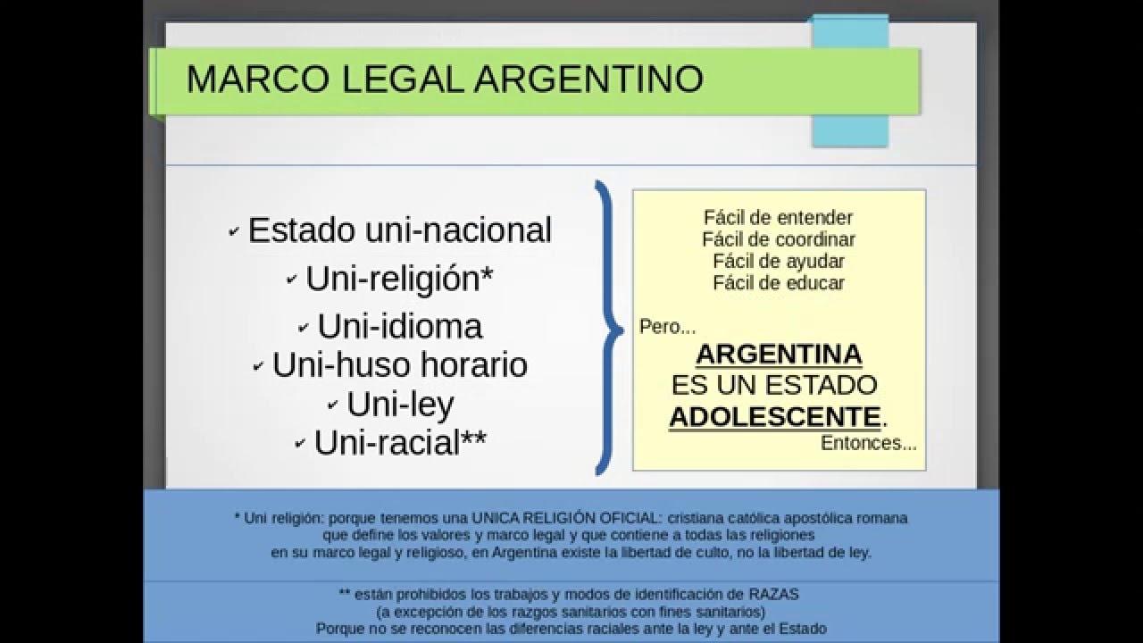 en HD) MARCO LEGAL ARGENTINO - BORRADOR 2do. PARA SEGURIDAD EN ...