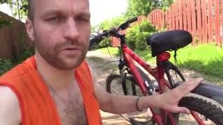 Дачный душ, велосипедная прогулка  с песней и речка(, 2016-08-02T22:44:06.000Z)