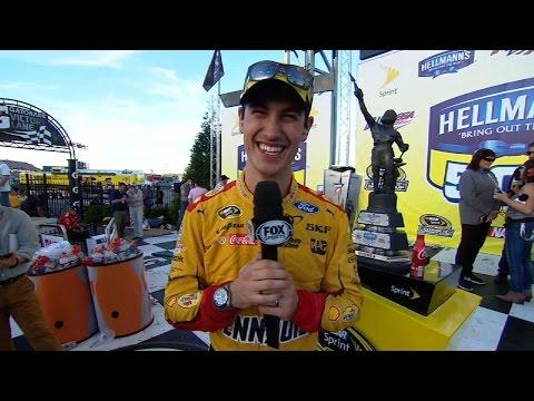 Joey Logano - Talladega | NASCAR VICTORY LANE