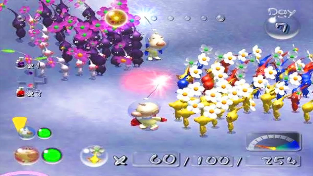 Pikmin 2 Wii Vs Pikmin 2 Gamecube Youtube