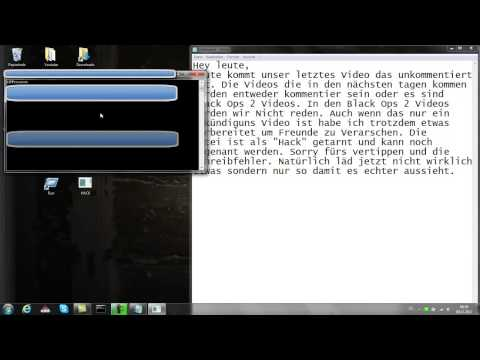Ankündigung und Spaß Hack + Downloadlink