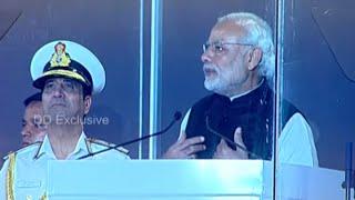 PM addresses International Fleet Review, Visakhapatnam