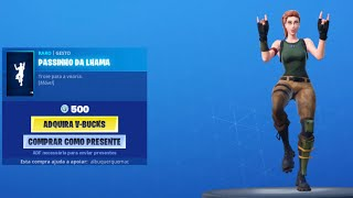 ✅ NEW DANCE NEXT TO LHAMA FORTNITE NEW SHOP FORTNITE TODAY 28/08 SHOP UPDATED TODAY NEW SKIN