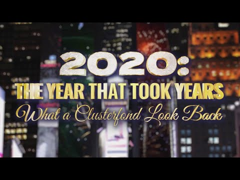 Stephen Colbert Hosts '2020: The Year That Took Years, What A Clusterfond Look Back'