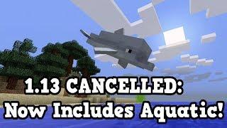 Minecraft 1.13 Is Now The UPDATE AQUATIC! (Next Update)