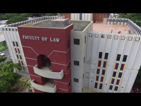 Faculty of Law at the UWI || First shoot with the DJI Phantom 3