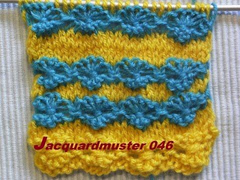 Jacquardmuster 046*Schleifenmuster Stricken *Muster für Pullover*Mütze* Kreativ