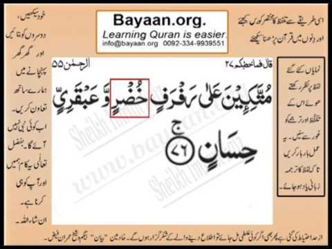 Learn Holy Quran with Urdu Translation - Quran - Koran