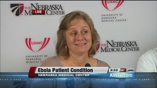 RAW: Wife of Ebola patient at Nebraska Medical Center gives update