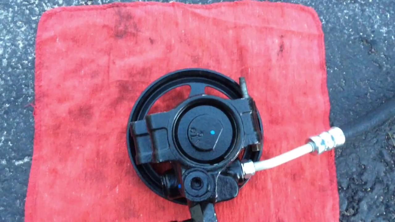 Diagnosing Power Steering Leak & Replace Power Steering