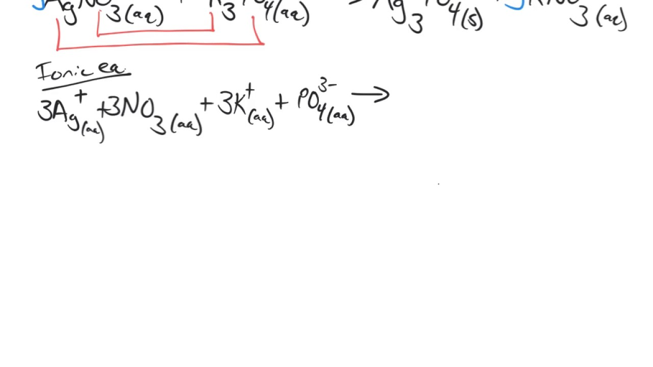 """How to """"Write Net Ionic Equations"""""""