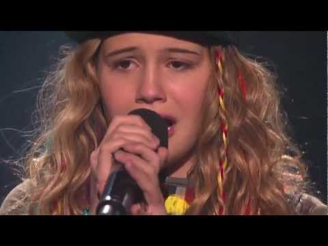 Beatrice Miller Sings for Survival  THE X FACTOR USA Video 2012