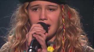 Beatrice Miller Sings for Survival - THE X FACTOR USA (Video) 2012