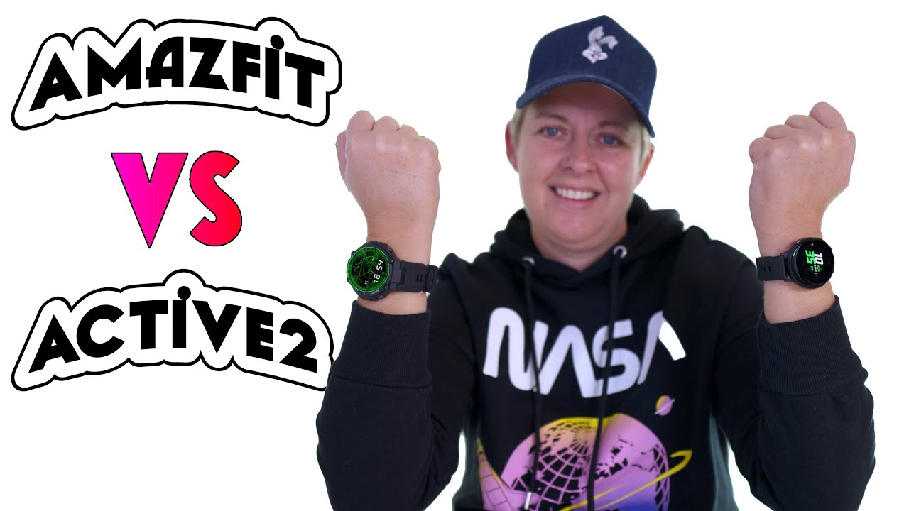 Amazfit T Rex Vs Galaxy Watch Active 2 - EXPECT the Unexpected!?