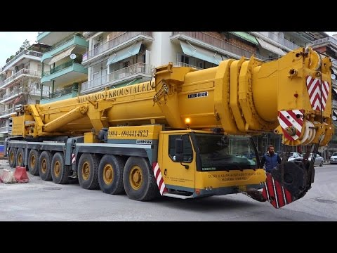 Liebherr LTM 1500 8.1 (500 ton) mobile crane (Giannakos - Kroustalelis 2017)