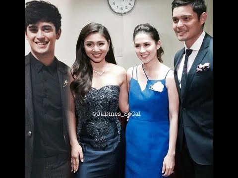 JADINE SWEETNESS WITH DONGYAN IN PNB GRAND ANNIVERSARY ...