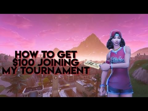 How to WIN $100 Entering My Fortnite 1v1 Creative Tournament!