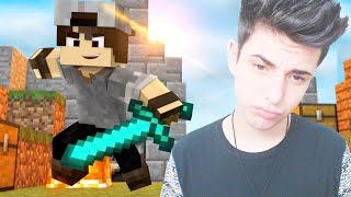 Minecraft: SKY WARS - JOGANDO EM SERVIDOR PIRATA!
