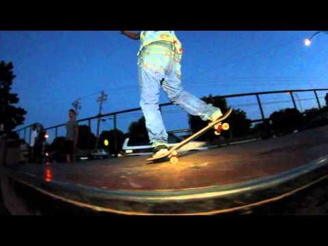 Fremont, Red Park After Dark