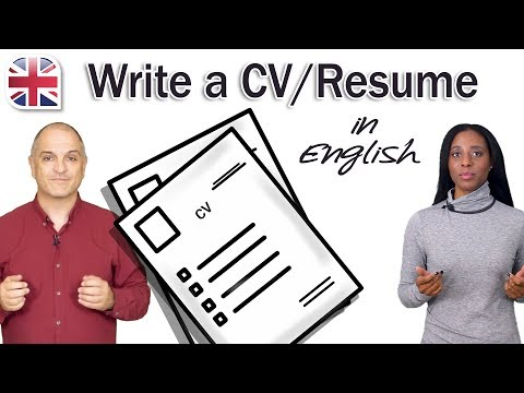 Write a CV for an English-Speaking Job - Tips to Write a Great Resume