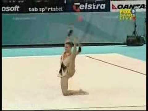 Yana Tsikaridze 2006 Commonwealth Games Clubs Team Final