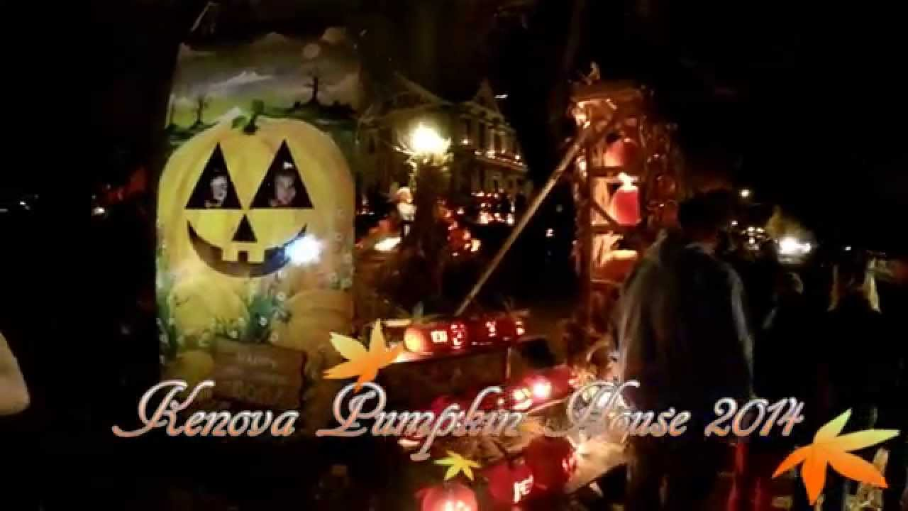 Kenova, WV Pumpkin House 2014 - YouTube