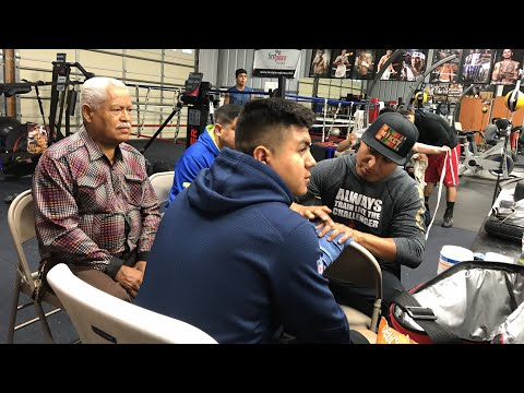Mikey Garcia , Big G , Brandon Rios in training camp!!!!! Behind the Scenes