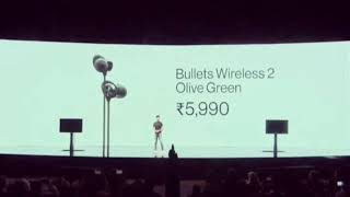 Price of OnePlus 7t , Oneplus TV , Bullet Wireless 2 olive green , Oneplus Care
