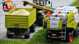 BRUDER Toys CLAAS Traktor Combine