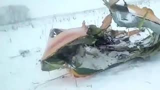 Орск, разбился самолет сегодня, самолет упал, ан-148