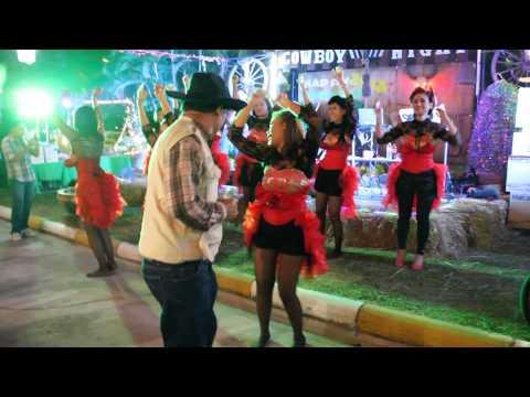 หญิงลี ฉบับสพม.32 (บุรีรัมย์) cowboy  night 2014