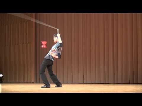 JJF2014 championship Hiroki Kamei (Japan Juggling Festival) 亀井大輝