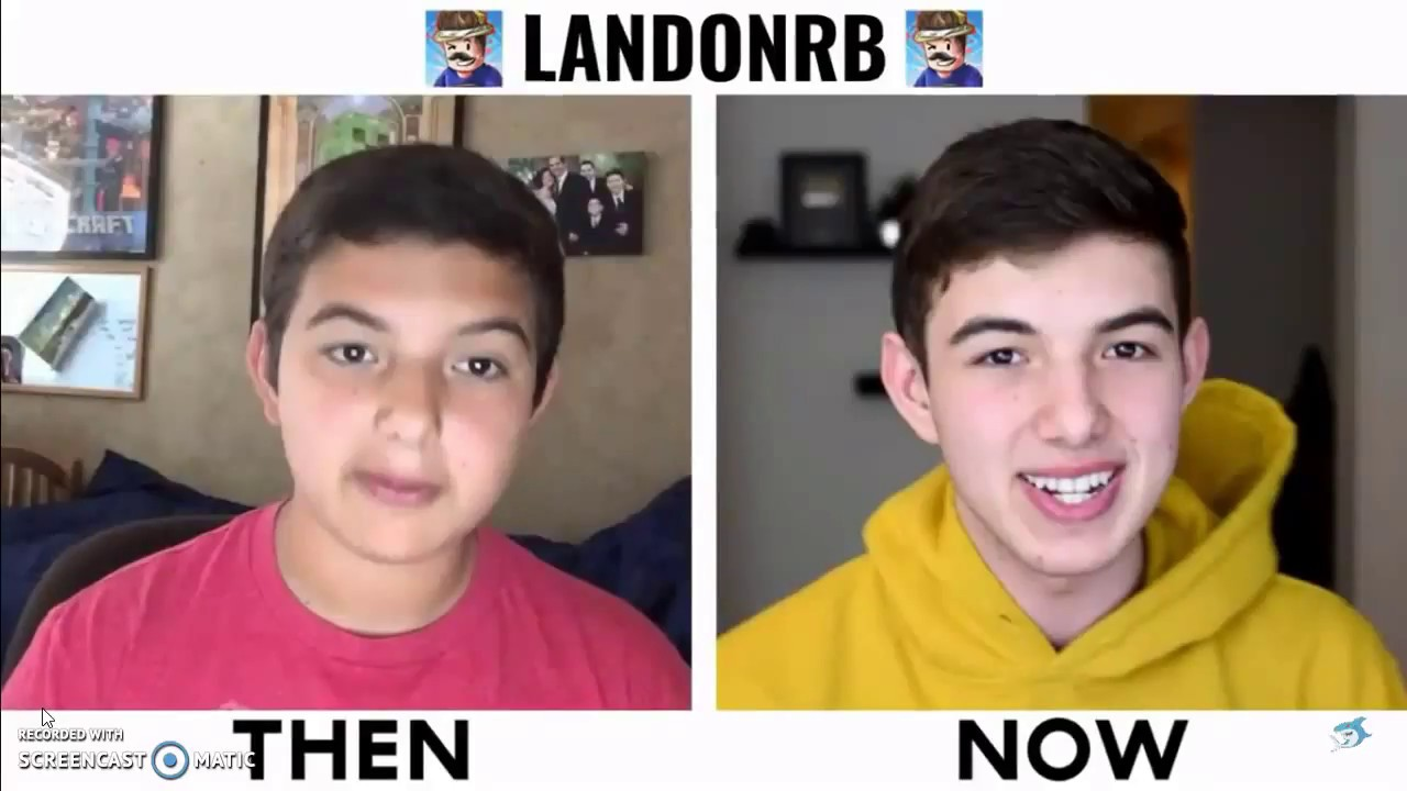 Roblox Youtubers Then And Now 2018 Youtube