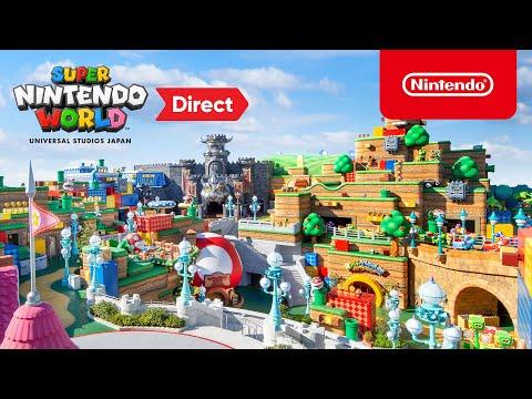 Así es el parque de atracciones de Nintendo