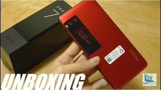 Unboxing: Meizu Pro 7 - Dual Screen Smartphone (Red Edition)